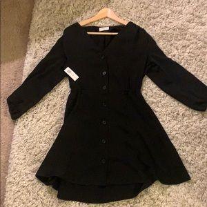 Aritzia BLACK dress M